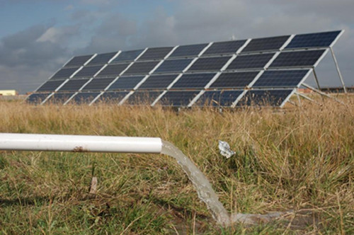Solar Pump for Pature Irrigation